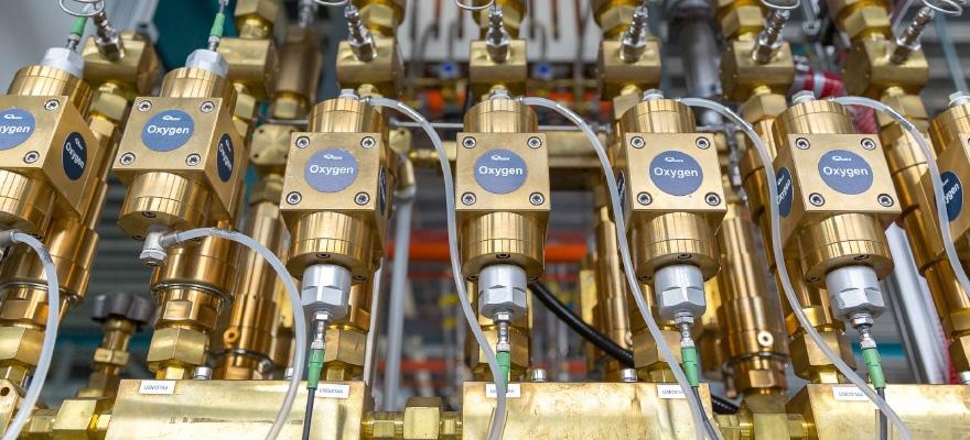 Armaturen für Gas