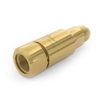 WEH® Drehdurchführung TD1 zum radialen Ausrichten des Adapters, mit Außengewinde und Innengewinde M16x1,5, Dichtung aus EPDM, 420 bar