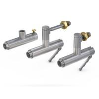 WEH® Adapter TW156 zum Prüfen von Atemschutzgeräten, Betätigung wahlweise manuell oder pneumatisch, max. 375 bar - Produktfamilie
