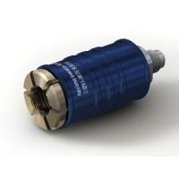 """WEH® Adapter TW111 zum Füllen von Kältemitteln an Schrader-Ventilen 5/16"""" SAE, blau (Niederdruck),  EPDM Dichtung, max. 42 bar, gerade Mediumzuleitung UNF 7/16""""-20 AG"""