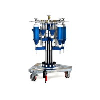 WEH® Füllstand TS200 / TS250 radialer, drehbarer Flaschenfüllstand für Atemluftflaschen