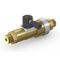 WEH® Schaltventil TV17GE für inerte Gase, Manuelle Betätigung, Absperrventil mit Entlüftung, DN12, 420 bar