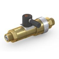 WEH® Schaltventil TV17GER für inerte Gase, Manuelle Betätigung, Block & Bleed, DN12, 420 bar