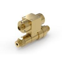 WEH® Schaltventil TV17GO für inerte Gase, pneumatische Betätigung, Absperrventil, 420 bar