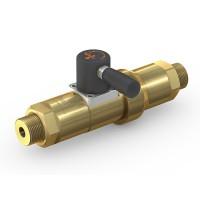 WEH® Schaltventil TV17GO für inerte Gase, Manuelle Betätigung, Absperrventil, DN12, 420 bar