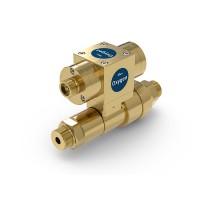 WEH® Schaltventil TV17GOS für Sauerstoff, Pneumatische Betätigung, Absperrventil, 420 bar