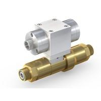 WEH® Schaltventil TV17GR für inerte Gase, Pneumatische Betätigung, Absperrventil mit Rückströmsicherung, DN12, NC, 420 bar