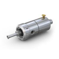 WEH® Adapter TW117 zum Prüfen von Gasflaschen mit Wasser, pneumatische Betätigung über Ventilknopf, max. 450 bar