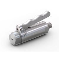 """WEH® Adapter TW141 für Glattrohre, Rohr AD 6,35 mm (1/4""""),  Handhebelbetätigung, Vakuum bis max. 100 bar"""