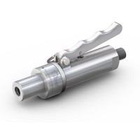 WEH® Adapter TW141 für Glattrohre,  Rohr AD 15 mm, Handhebelbetätigung, Vakuum bis max. 100 bar