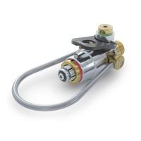 """CLICKMATE® Adapter TW154 zum Füllen von Atemluftflaschen mit  G5/8"""" IG (DIN 477) an Füllleisten 200 bar , Bügel Nr. 72"""
