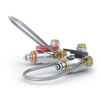 CLICKMATE® Adapter TW154 zum direkten Anschluss an Atemluft-Füllleisten - Produktfamilie