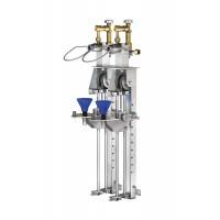 WEH® Füllstand TS150 linearer Flaschenfüllstand für Gasflaschen unterschiedlicher Größe bis 10 l Nenninhalt