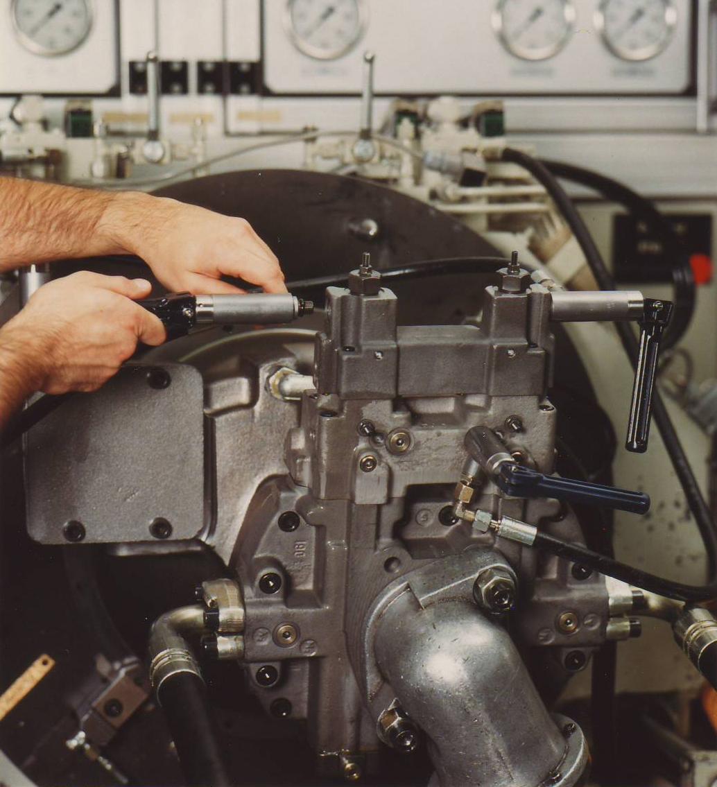 Zylinderprüfung mit dem Schnelladapter TW19